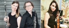 Bild: Konzert des Kammerorchesters Attendorn - mit Gudrun Schumacher, Klarinette; Ines Schmitz-Hertzberg, Klarinette und Anastasia Matveeva, Viola