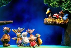 Bild: Der kleine Rabe: Alles meins! - Vergnügliches Figurentheater (4+)