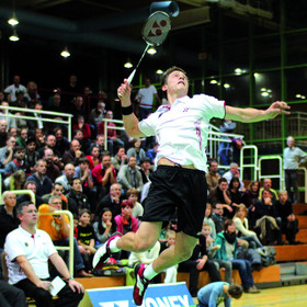 Bild: Europameisterschaft-Qualifikationsturnier für Badminton-Nationalmannschaften