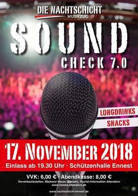 Soundcheck 7.0 - DIE NACHTSCHICHT kehrt zurück