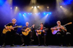 Bild: Gitarrenfestival - Four Styles