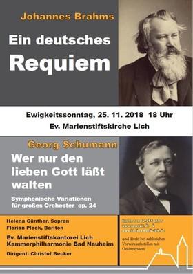 Bild: Ein deutsches Requiem - Ev. Marienstiftkirche