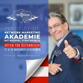 Bild: Network Marketing Akademie - Ausbildungsserie mit Michael Strachowitz