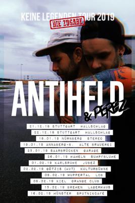 Bild: ANTIHELD - Keine Legenden Tour - Die Zugabe