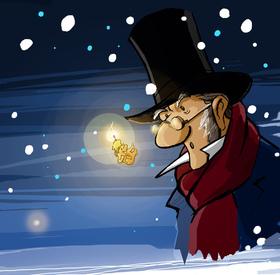 Bild: Scrooge - eine Weihnachtsgeschichte - Das neue Familienmusical von Michael Schanze und Christian Berg