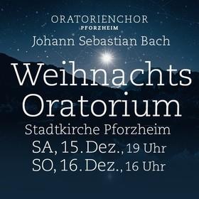 Bild: J. S. Bach: Weihnachtsoratorium Kantaten 1 - 6