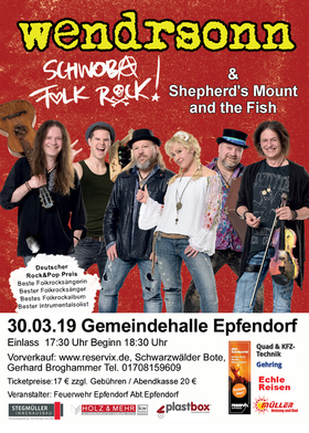 Bild: Wendrsonn Live in Epfendorf