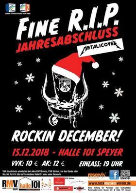 Bild: Rockin December - Fine R.I.P. Jahresabschluss