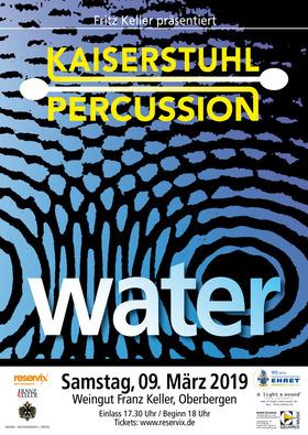 "Bild: Kaiserstuhl Percussion  - ""WATER"""