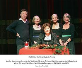 Bild: Weihnachten in Bayern - Die Wellküren, Stofferl Well & Monika Baumgartner treffen Ludwig Thoma
