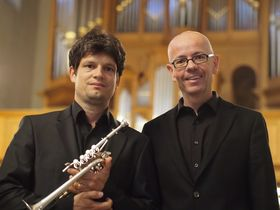 Bild: IMMANUEL RICHTER, Trompete HANS JÜRG BÄTTIG, Orgel