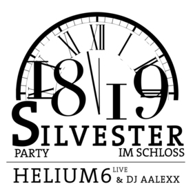 Bild: Silvester im Schloss - Glamour-Silvester-Party mit helium6 live & DJ
