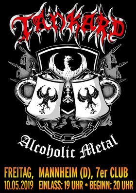 TANKARD – Alcoholic Metal Tour 2019 - - Special Guest: Odium