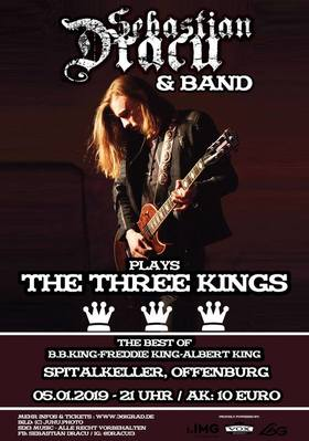Bild: Sebastian Dracu & Band - (D) Three Kings Show - Blues & Rock