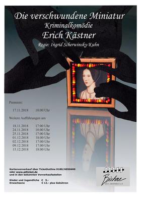 Bild: Die verschwundene Miniatur - Kriminalkomödie von Erich Kästner - 8. Vorstellung