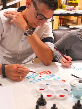 Watercoloring-Workshop für Einsteiger mit Stephan Ott