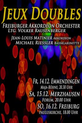 Bild: Jeux doubles - 90 Jahre Freiburger Akkordeon Orchester