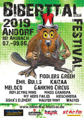 Biberttal Festival 2019 - Tagesticket Sonntag