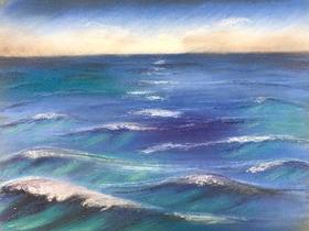 Bild: Am Meer - Pastell-Workshop mit Künstler und Dozent Gerhard Schick