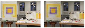 Bild: Das Quadrat in der Malerei - ein Workshop mit Künstler und Dozent Markus Kronberger