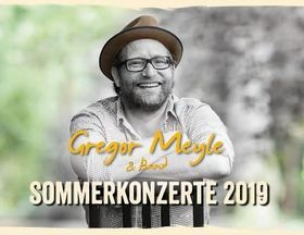 Gregor Meyle - Sommerkonzerte 2019