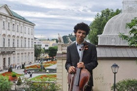 Bild: W.A. Mozart, J.S. Bach, A. Dvorak - Helian & Yu-Ying Zehetmair, Violoncello und Klavier
