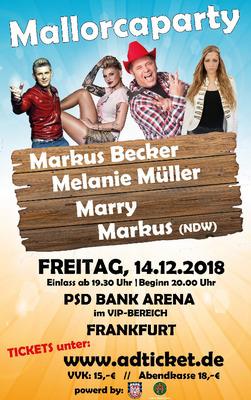 Mallorcaparty Live - in Frankfurt