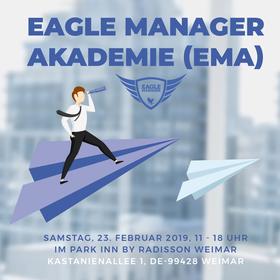 Bild: Erste Eagle Manager Akademie 2019 für unser Team keys2success