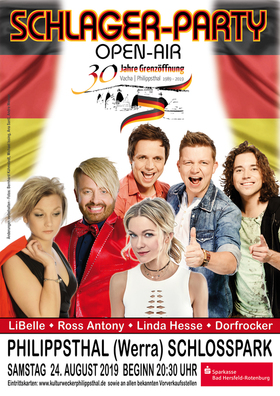 Bild: Schlager-Party Open-Air - Kulturwecker Philippsthal e.V.
