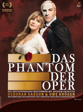 Bild: Das Phantom der Oper - mit Deborah Sasson und grossem Orchester - Stargast Uwe Kröger
