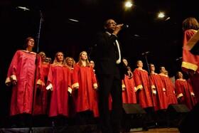 Bild: Jahreskonzert Freiburg Gospel Choir - mit Malcolm Green und Band