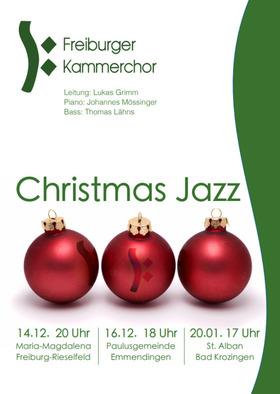 Bild: Christmas Jazz - Freiburger Kammerchor,