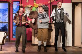 Bild: Drei Männer im Schnee - Komödie in der Steinstrasse
