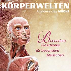 Bild: Körperwelten Weihnachtsgutscheine Museum Heidelberg - An kein Datum gebunden.