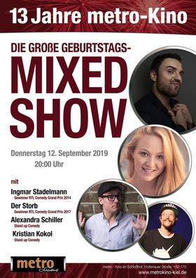 DIE GROSSE GEBURTSTAGS -MIXED SHOW - Ingmar Stadelmann, Der Storb, Alexandra Schiller, Kristian Kokol