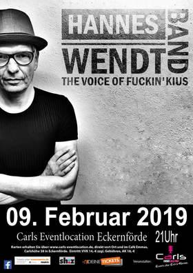 Bild: Hannes Wend & Band - THE VOICE OF FUCKIN`KIUS