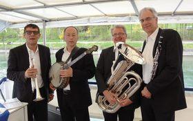 Bild: De Hämme und Helmut Dolds Dixie-Quartett