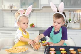 Bild: Osterbacken für Kinder