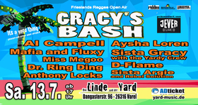 Gracy´s Bash 2019 - Frieslands Reggae Festival