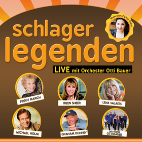 Bild: Schlagerlegenden LIVE auf Tournee - mit Peggy March, Ireen Sheer, Lena Valaitis, Michael Holm, Graham Bonney