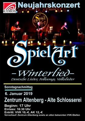 Bild: SpielArt - Winterlied - Deutsche Lieder, Folksongs, Volkslieder
