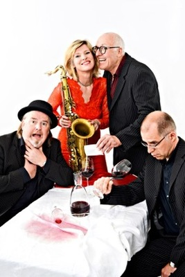 """Bild: Wein & Crime """"Der Detektiv und das Saxophon"""" - mit Jo Jung, Ruth Sabadino und Boogaloo"""