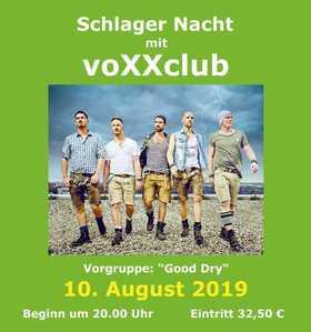 Bild: Schlager Nacht mit voXXclub - Vorgruppe:
