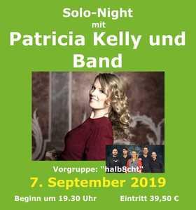 Bild: Solo Night mit Patricia Kelly und Band - Vorgruppe: