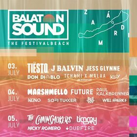 BALATON SOUND 2019 - 5 Tages Ticket - VIP Ticket