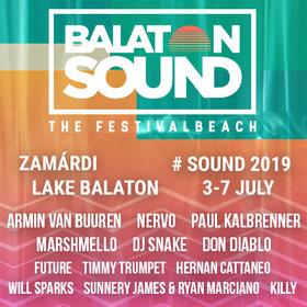 BALATON SOUND 2019 - Camping - Aufgebautes Zelt für 2 Personen im Beach Camping