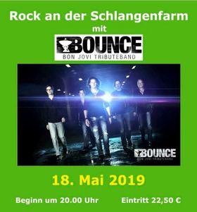 Bild: Rock an der Schlangenfarm - mit Bounce Bon Jovi Tributeband