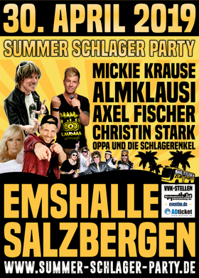 Bild: Summer-Schlager-Party 2019