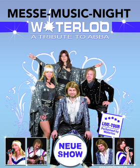 Bild: TRIBUTE TO ABBA - WATERLOO-Band - Messe Music-Night