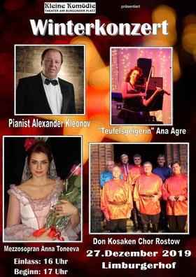 Bild: Ein russisches Winterkonzert - mit Don Kosaken Chor Rostov, Anna Toneewa, Alexander Kleonov und Ana Agre